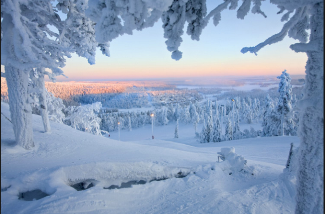 Lapland; isn't it beautiful? Photo credit: Nordic Visitor Finland website